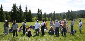 NPAW 2007 - Cypress Hills, SK. Photo by PCAP.